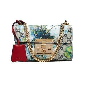 d2a18d0fd1cd Gucci Bags   Coated Canvas Supreme Blooms Small Padlock   Poshmark